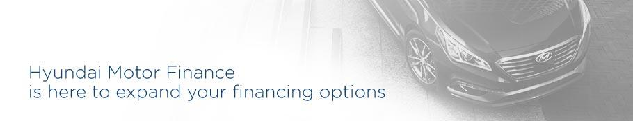 Hyundai Motor Finance is here to expand your financing options in Toronto and the GTA.