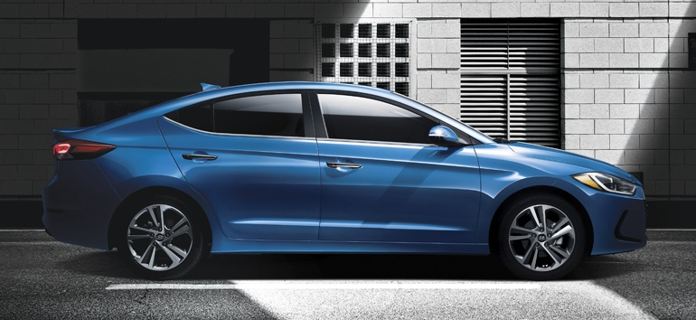 2017 Hyundai Elantra Side@ Milton Hyundai