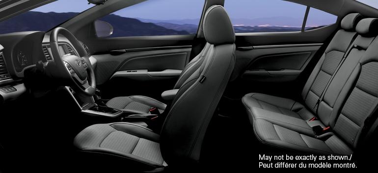 2017 Hyundai Elantra Interior@ Milton Hyundai