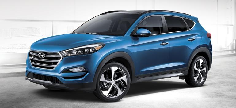 2018 Hyundai Tucson Exterior @ Milton Hyundai