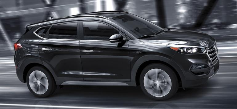 2018 Hyundai Tucson Exterior GLS @ Milton Hyundai