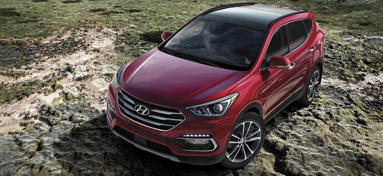 2017 Hyundai Santa Fe Sport Regal Red @ Milton Hyundai