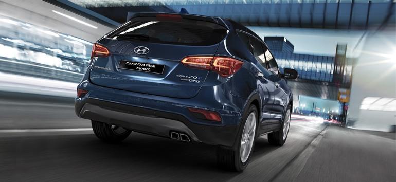 2017 Hyundai Santa Fe Sport Back @ Milton Hyundai