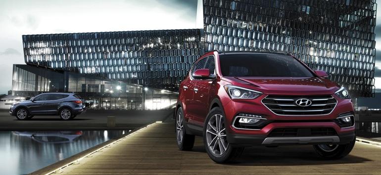 2017 Hyundai Santa Fe Sport Front @ Milton Hyundai