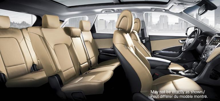 2017 Hyundai Santa Fe XL Interior @ Milton Hyundai