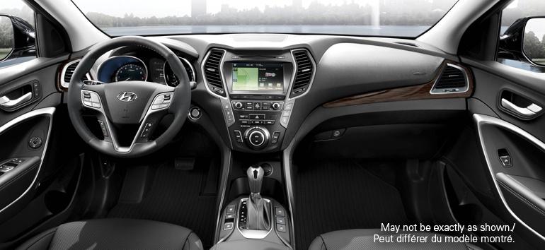 2017 Hyundai Santa Fe XL Dashboard @ Milton Hyundai