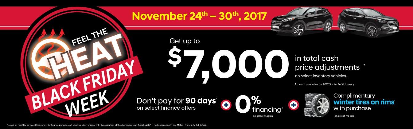 Hyundai Canada Incentives in Milton Ontario