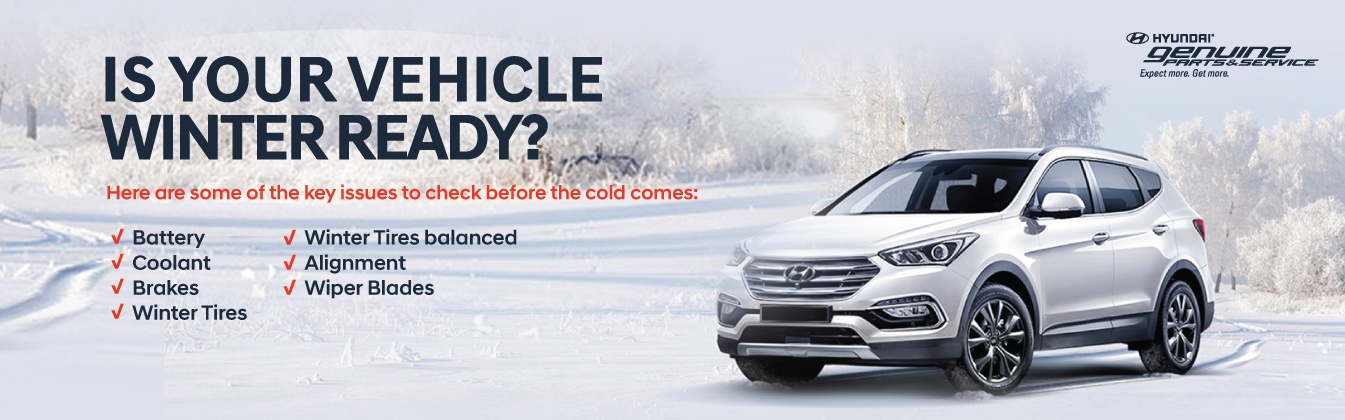 Winter Ready at Milton Hyundai