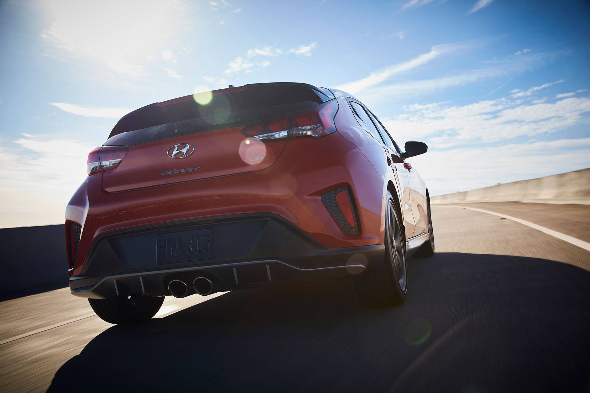 2019 Hyundai Veloster Back @ Milton Hyundai