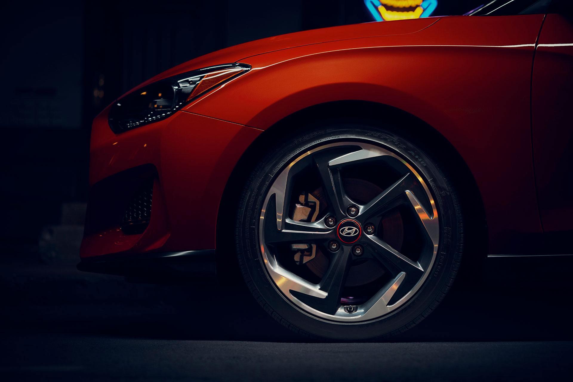 2019 Hyundai Veloster Wheels @ Milton Hyundai