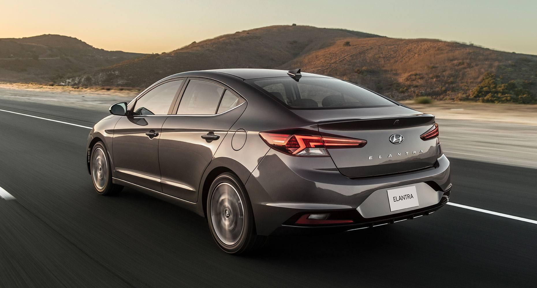 2019 Hyundai Elantra Exterior@ Milton Hyundai