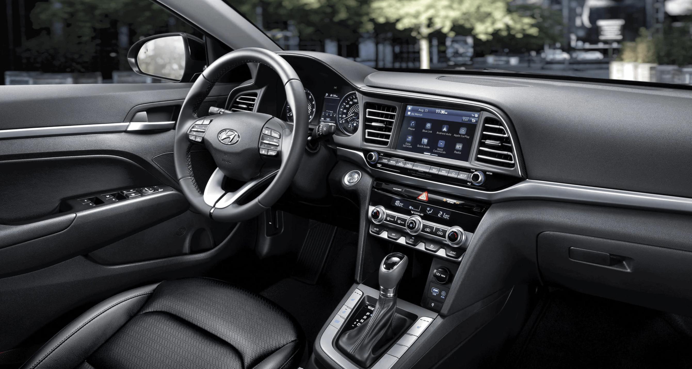 2020 Hyundai Elantra Interior @ Milton Hyundai
