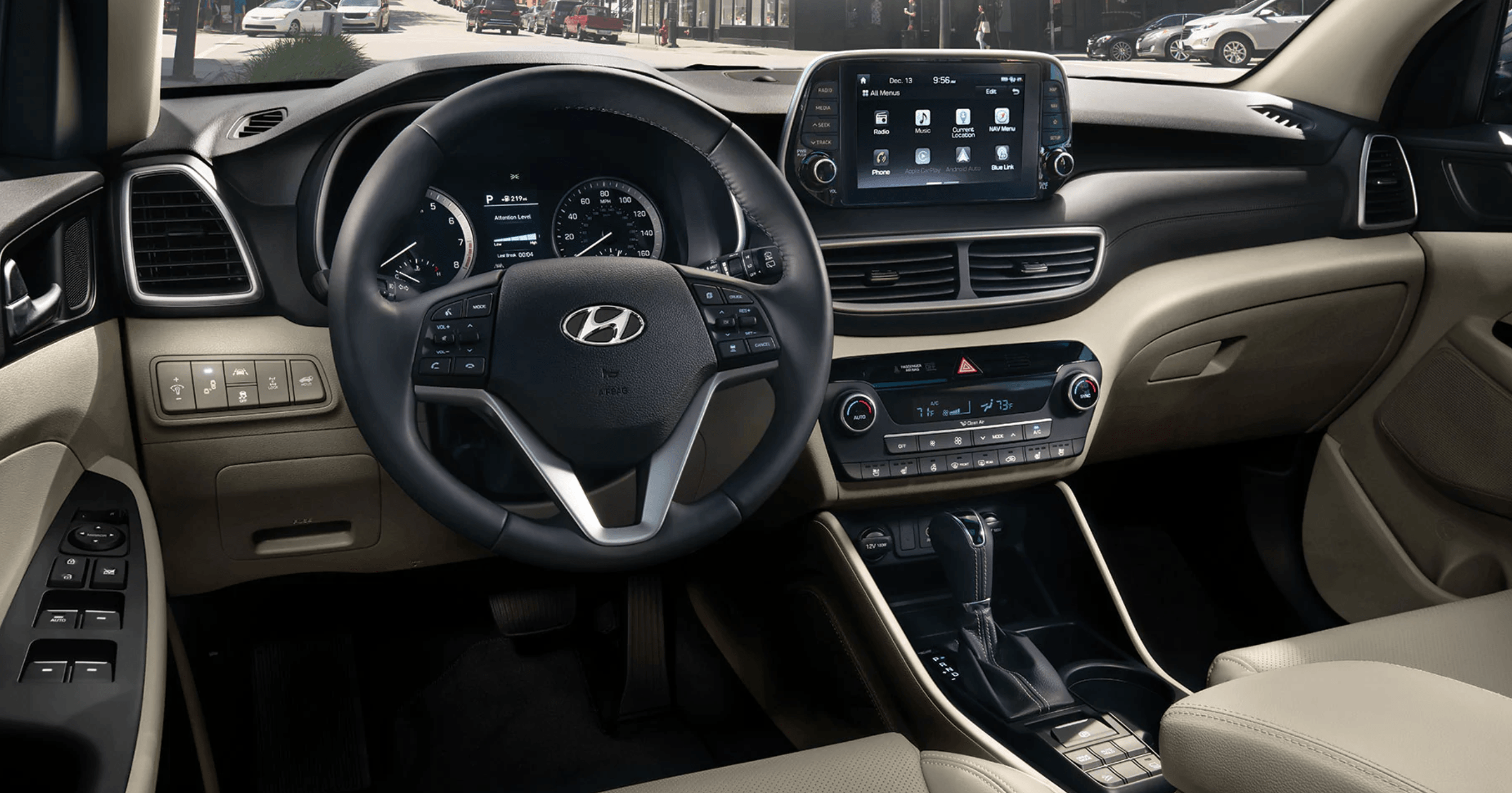2020 Hyundai Tuscon Interior @ Milton Hyundai