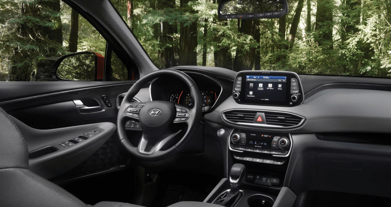 2020 Hyundai Santa Fe Interior @ Milton Hyundai