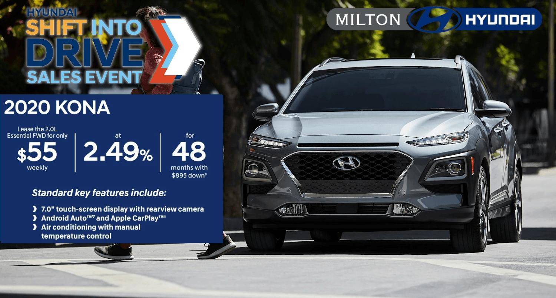 2020 Hyundai Kona at Milton Hyundai